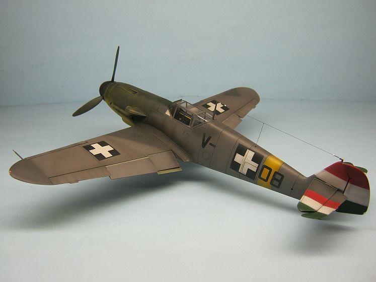 Messerschmitt Bf-109 F-4/b, Magyar Királyi Honvéd Légierő, V-+08.