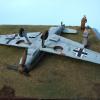 """""""Damelandung"""" (Messerschmitt Bf 109 E-3)"""