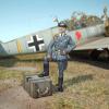 Kis méretarányú figurák festése a repülő-makettezésben